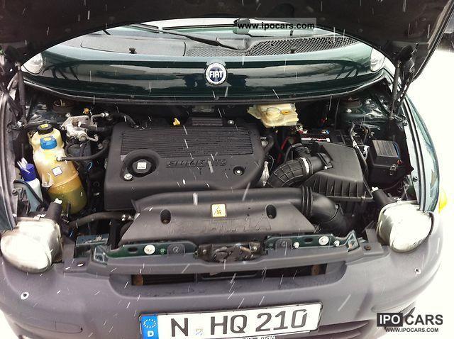 2002 Fiat Multipla Jtd 110 Elx