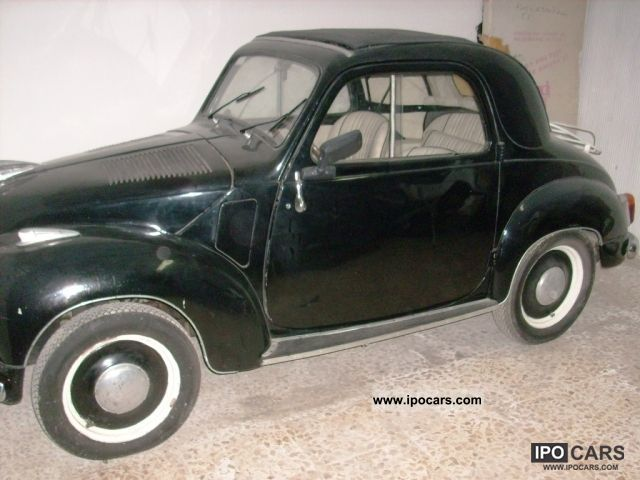 Fiat  FIAT 500 C 500 TOPOLINO 1951 Vintage, Classic and Old Cars photo