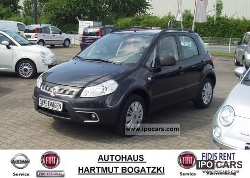 2010 Fiat  Sedici 1.6 16V Dynamic 4x2 - No EU import! Limousine Demonstration Vehicle photo