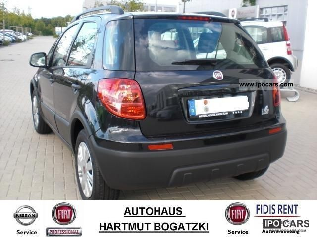 2010 fiat sedici 1 6 16v dynamic 4x2 no eu import car. Black Bedroom Furniture Sets. Home Design Ideas