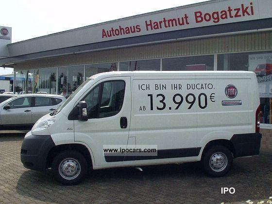 2011 Fiat  Ducato 100 Multijet 28 L1H1 (CD + TW Si +3.) IMMEDIATELY Van / Minibus Used vehicle photo