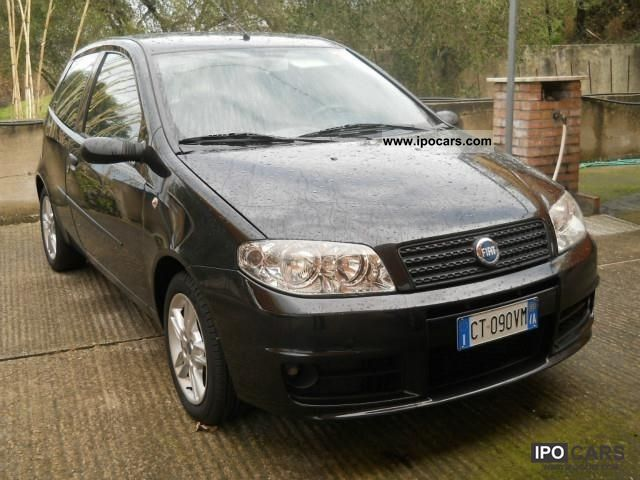 2005 fiat punto 1 3 multijet sporting car photo and specs. Black Bedroom Furniture Sets. Home Design Ideas