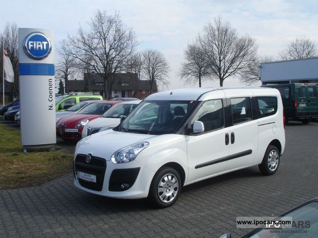 2012 Fiat  C. Doblo SX MAXI 1.3 | 1.Hand | climate control | CD | TOP! Estate Car Used vehicle photo