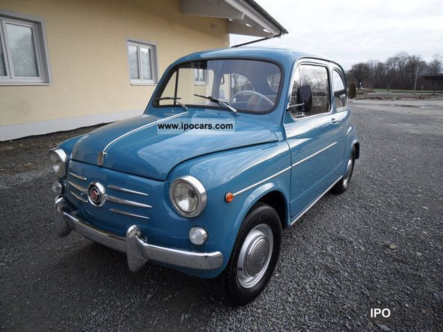 Fiat  600 D in top condition Tüv new 1965 Vintage, Classic and Old Cars photo