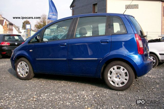 2006 fiat idea 1 4 16v dynamic car photo and specs for Fiat idea 2006 full 1 8