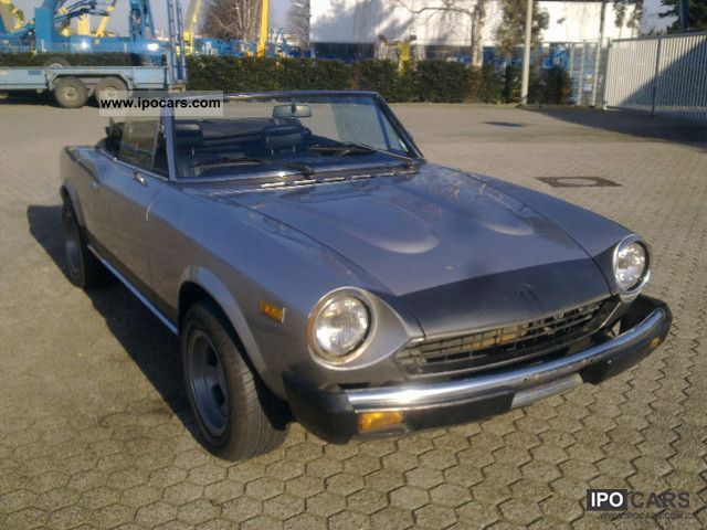 1980 Fiat  124 Spider-H CS0 mark Tüv New Cabrio / roadster Used vehicle photo