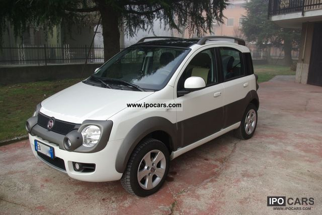 2010 fiat panda cross 4x4 1 3 mjet car photo and specs. Black Bedroom Furniture Sets. Home Design Ideas