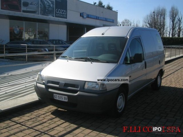 1998 Fiat  Scudo 1.9 diesel base Furgone Other Used vehicle photo