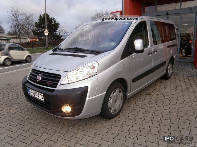 2009 Fiat  Scudo L2 (5-Si). Panorama Family 9-seater Estate Car Used vehicle photo