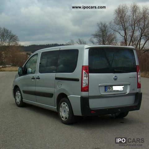 2007 fiat scudo 5 si multijet 140 panorama executive car photo and specs. Black Bedroom Furniture Sets. Home Design Ideas