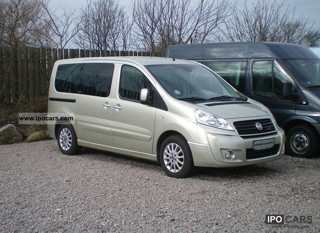 2009 Fiat Scudo 2 0 Jtd 140 Panoramic 6prs Car Photo And