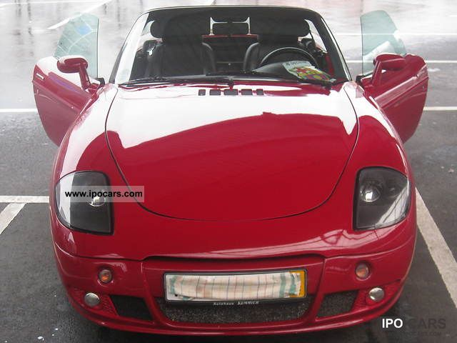 Fiat  Barchetta special optics tuning garage vehicle 1996 Tuning Cars photo