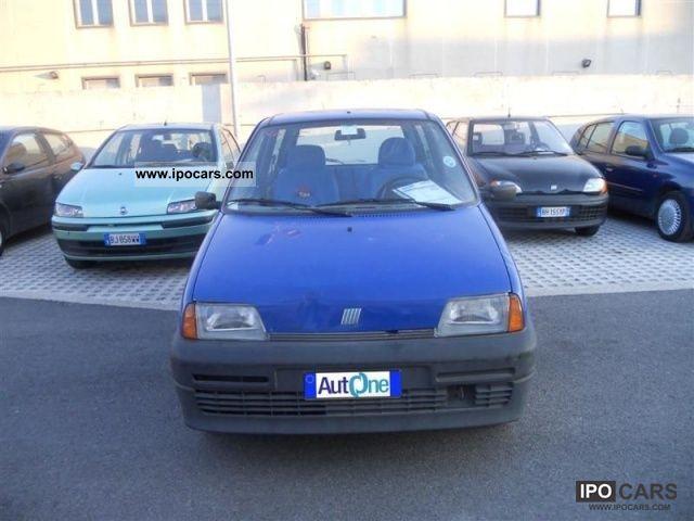 1994 Fiat  Cinquecento 900i cat Limousine Used vehicle photo