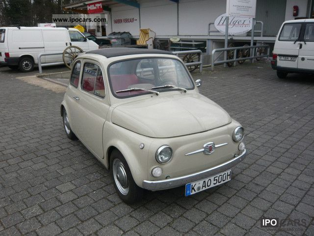 1967 Fiat  500 Cabrio / roadster Classic Vehicle photo