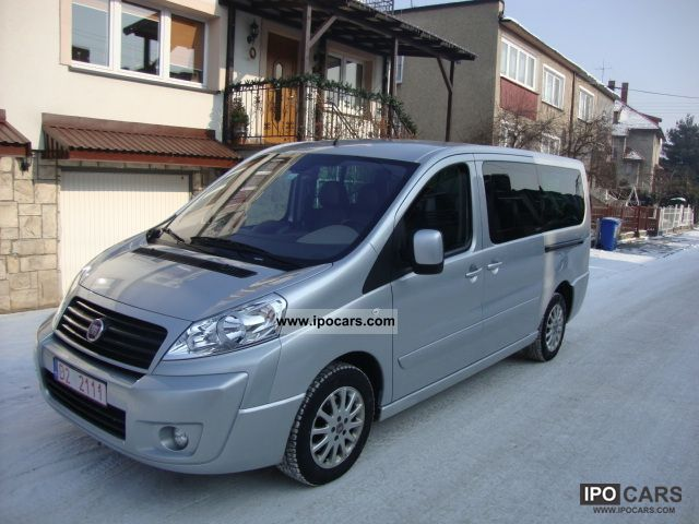 2009 fiat scudo panorama 6 person leather pdc ahk 136 hp. Black Bedroom Furniture Sets. Home Design Ideas