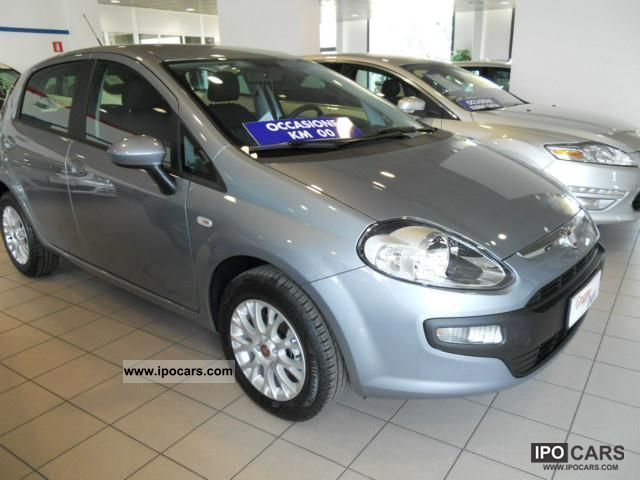 Fiat  Punto 1.4 EasyPower GPL BLUE & ME 5P (((KM0)) 2012 Liquefied Petroleum Gas Cars (LPG, GPL, propane) photo