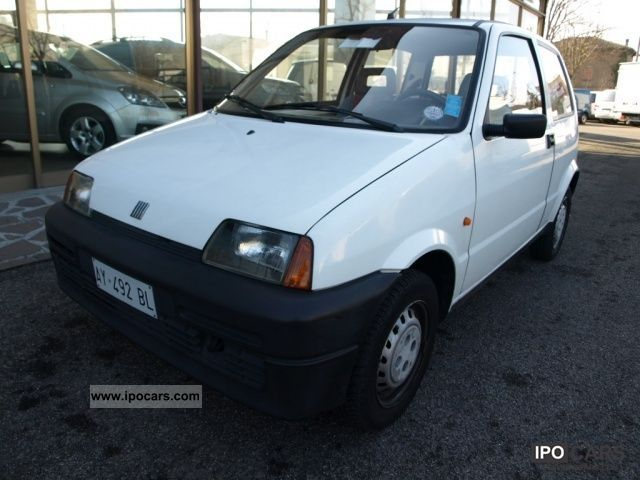 1998 Fiat  Cinquecento Young Limousine Used vehicle photo