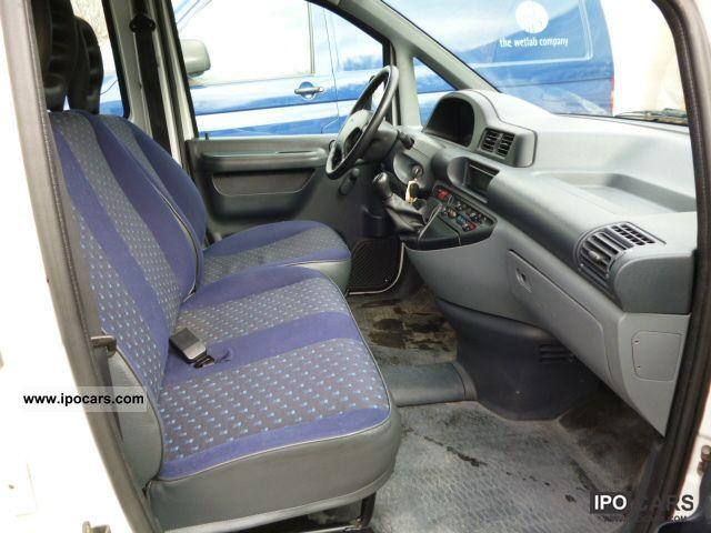 2002 Fiat Scudo 1 9d Car Photo And Specs