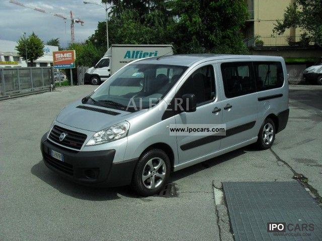 2007 Fiat  Scudo 2.0Mjt136Cv LH1 9p DPF Doppio clima porta Van / Minibus Used vehicle photo