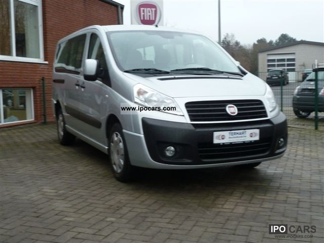 2011 Fiat  Scudo Panorama Family L2H1 Van / Minibus Used vehicle photo