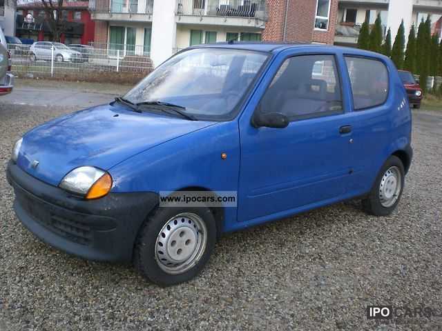 2000 fiat seicento 1 1 servo car photo and specs. Black Bedroom Furniture Sets. Home Design Ideas