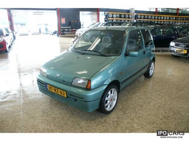 1994 Fiat  Cinquecento 0.9 Limousine Used vehicle photo