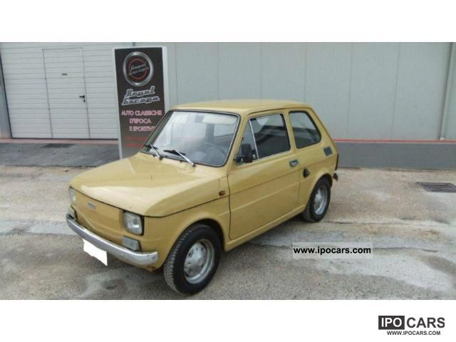 Fiat  126 1 °-ASI SERIES 1973 Vintage, Classic and Old Cars photo