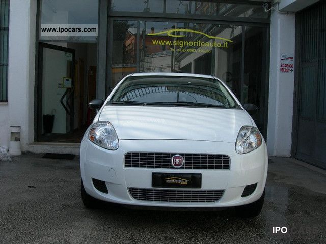 Fiat  Gr.Punto 1.4 77CV Nat.Pow. METANO 5pt 12m garanz 2008 Compressed Natural Gas Cars (CNG, methane, CH4) photo