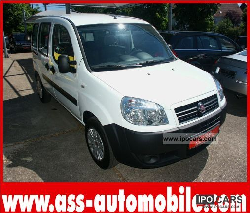 Fiat  Doblo 1.6 16V + NP + CNG NATURAL GAS DAILY ADMISSION 27 KM 2009 Compressed Natural Gas Cars (CNG, methane, CH4) photo