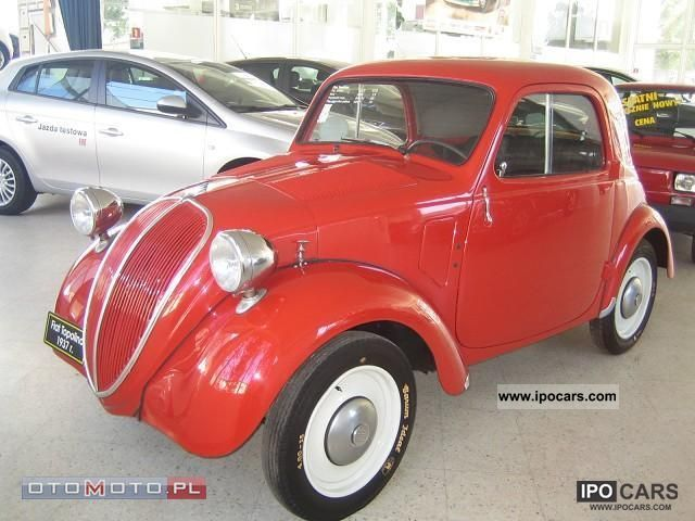 1937 Fiat  Argenta Topolino r 500 1937th Other Used vehicle photo