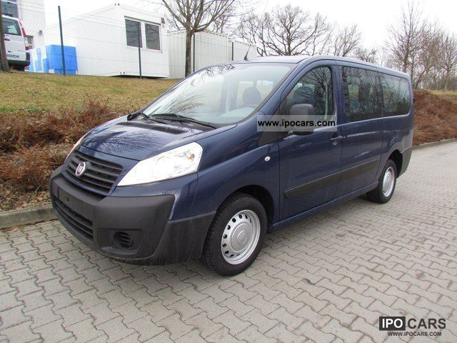 2012 Fiat  Scudo Combi L2H1 130'' 8-seater'' Van / Minibus Pre-Registration photo