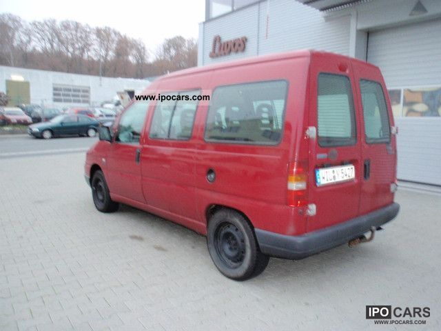 2001 fiat scudo 2 0 jtd national combi climate tel car photo and specs. Black Bedroom Furniture Sets. Home Design Ideas