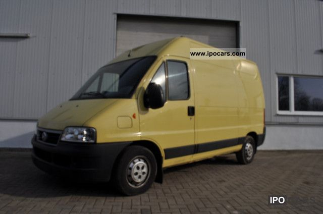2004 Fiat  Ducato 2.3 l Van / Minibus Used vehicle photo