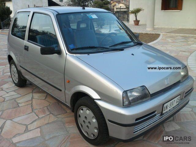 1998 Fiat  Cinquecento Small Car Used vehicle photo