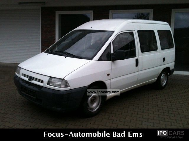 1998 Fiat  Scudo 190.0, diesel, 2 hand, technical approval / Au newly Van / Minibus Used vehicle photo