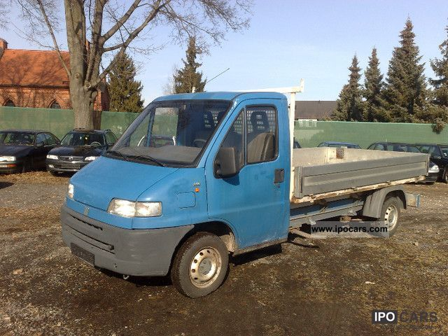 1994 Fiat  Ducato 14 D 231.428.0 L1C long flatbed trailer coupling Other Used vehicle photo