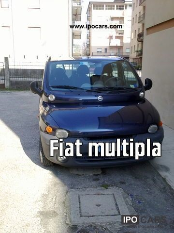2001 Fiat  Multipla SPAZIOSISSIMA Van / Minibus Used vehicle photo