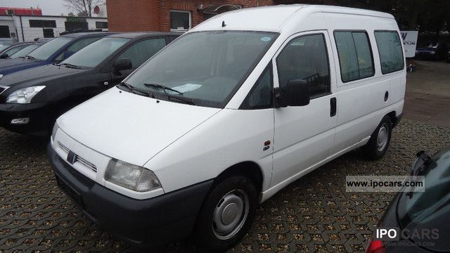 1997 Fiat  Scudo 1.9 D EL / truck registration Van / Minibus Used vehicle photo