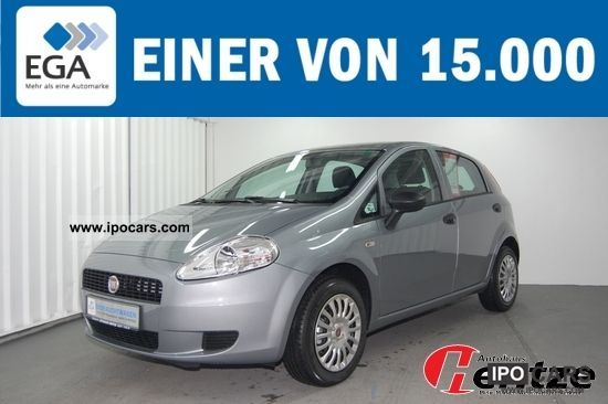 2012 Fiat  Grande Punto 1.2 CD/MP3 Actual Start / Stop. Limousine Used vehicle photo