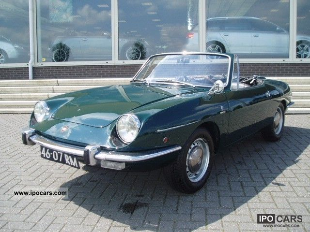 Fiat 850 Sport Convertible Bertone Other 1971 Used Vehicle Photo