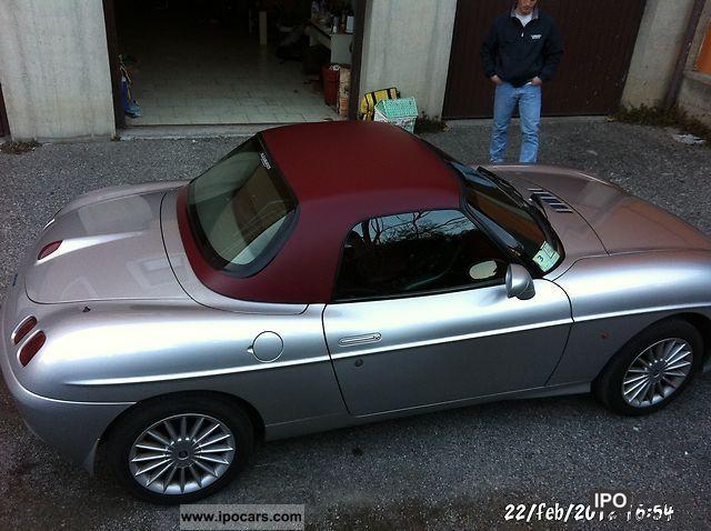 2002 Fiat Barchetta + HARDTOP ed interni in tinta - Car Photo and Specs