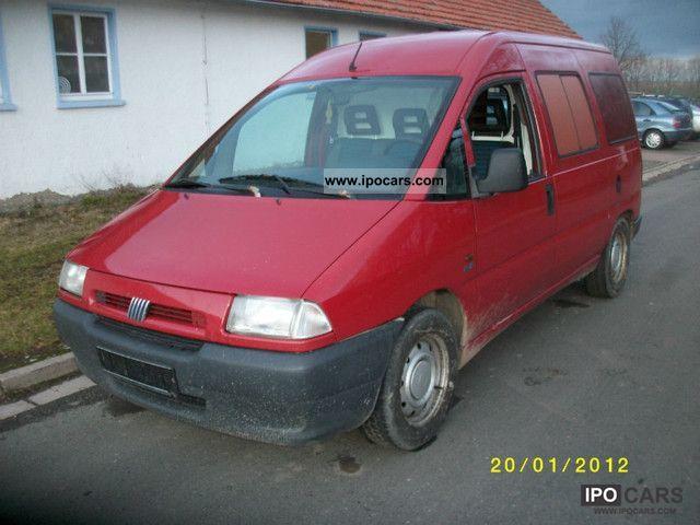 1997 Fiat  Scudo 499.0 Van / Minibus Used vehicle photo