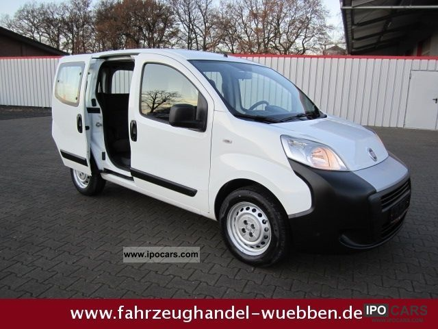 2008 Fiat  Fiorino 1.3 Mjt. Klima/5-Sitze (1534) SPECIAL OFFER! Van / Minibus Used vehicle photo