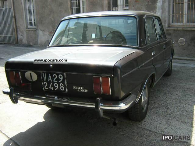 1970 Fiat 124 Coup 125 Special Prima Serie Car Photo And Specs