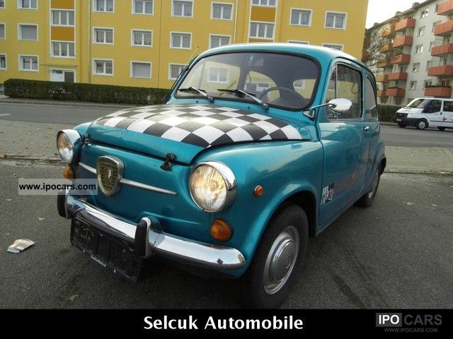 Fiat  600 * vintage * 1973 Vintage, Classic and Old Cars photo