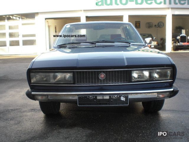 Fiat  130 Coupe H-plates 1975 Vintage, Classic and Old Cars photo