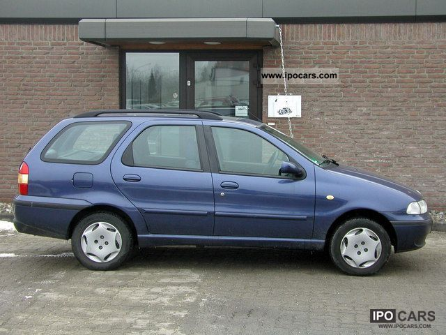 2002 Fiat  Palio combined * Air conditioning * 82 000 km * Estate Car Used vehicle photo