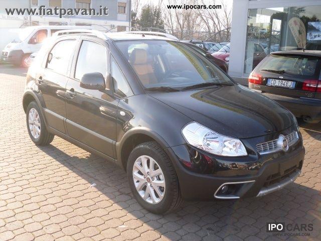 2011 Fiat  Sedici 1.6 4X4 EMOTION Limousine Used vehicle photo