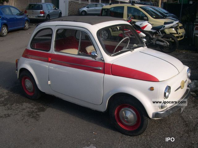 Fiat  500d 1961 Vintage, Classic and Old Cars photo