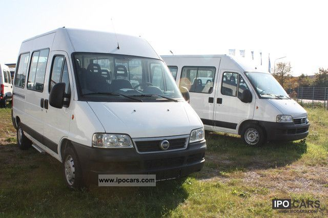 2006 Fiat  Ducato glazed 9-seater, excellent condition Van / Minibus Used vehicle photo